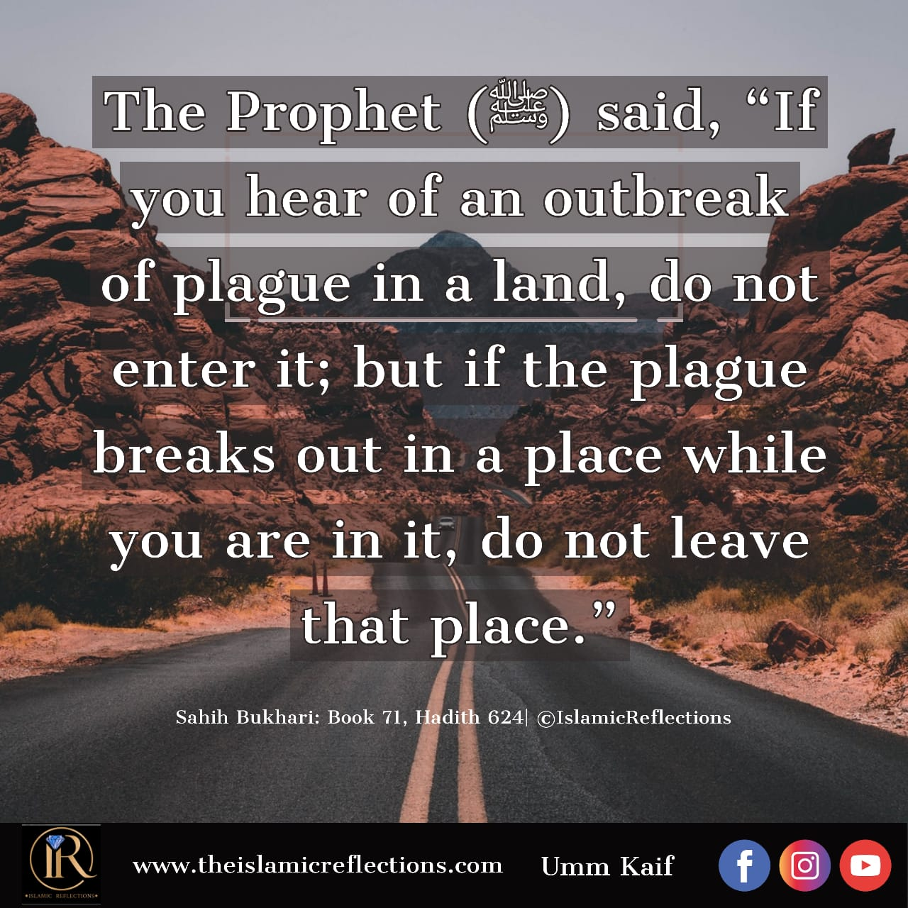 Hadith: Social Distancing In Times Of Plague